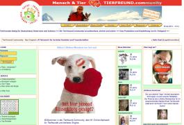 screenshot Tierfreund.com