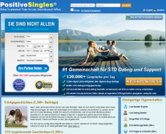 PositiveSingles screen