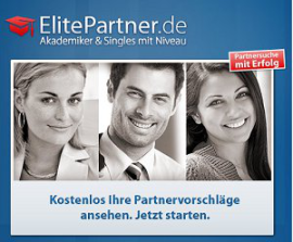 Akademiker-Portal ElitePartner